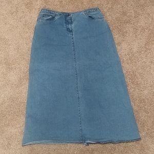 Vintage Woolrich Denim Skirt